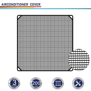 200GSM Black AC Cover