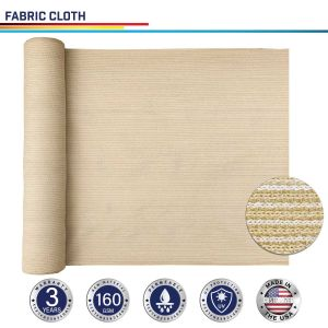 160GSM HDPE Beige Fabric Cloth