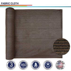 160GSM HDPE Brown Fabric Cloth