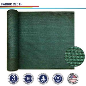 160GSM HDPE Dark Green Fabric Cloth