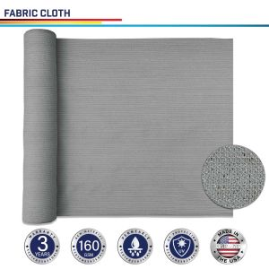 160GSM HDPE Light Gray Fabric Cloth