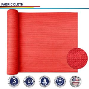 160GSM HDPE Red Fabric Cloth