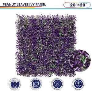 Peanut leaves Ivy Panel
