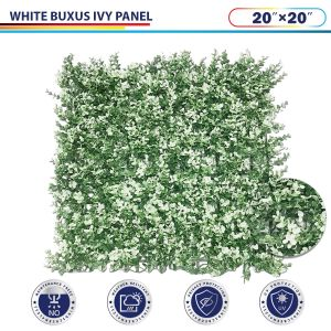 White Buxus Ivy Panel