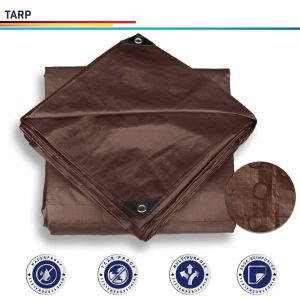 Brown Tarpaulin