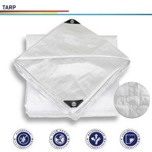 White Tarpaulin