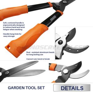 Real Scene Effect of   Garden Tool