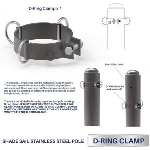 Real Scene Effect of   D-Ring Clamp