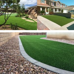 Real Scene Effect of Artificial Turf