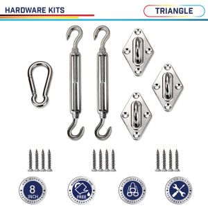 Triangle  Hardware Kit