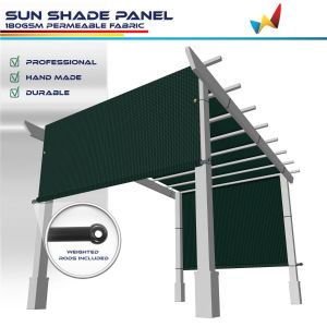 180GSM HDPE Dark Green Shade Panel