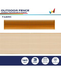 Real Scene Effect of Windscreen4less Custom Size 3-6ft x 1-150ft Garden Fence Mesh Netting Temporary Fencing Roll for Backyard Rabbits Chickens Poultry Vegetable Dogs in color Orange w/3-Year Warranty
