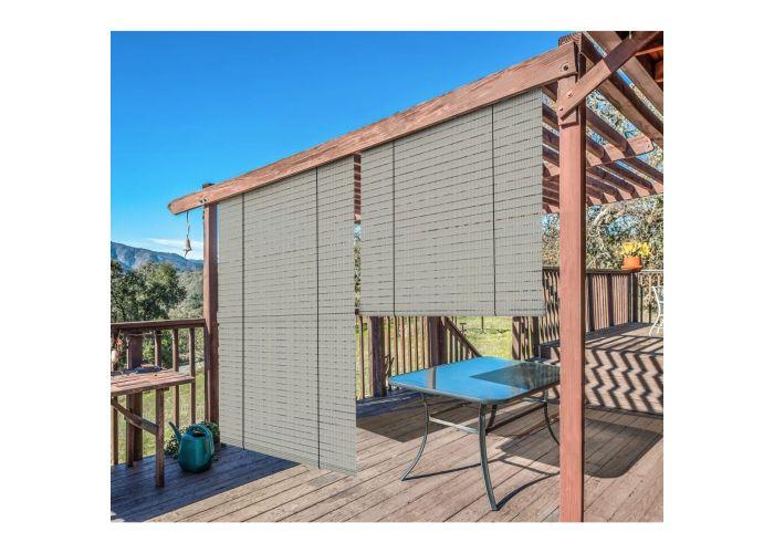 90 Uv Block Roller Shade, Outdoor Deck Shades