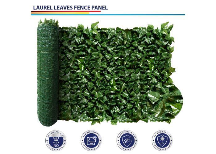 Artificial Faux Ivy Leaf Decorative Fence Screen Ivy Leaf Decorative Fence Panel