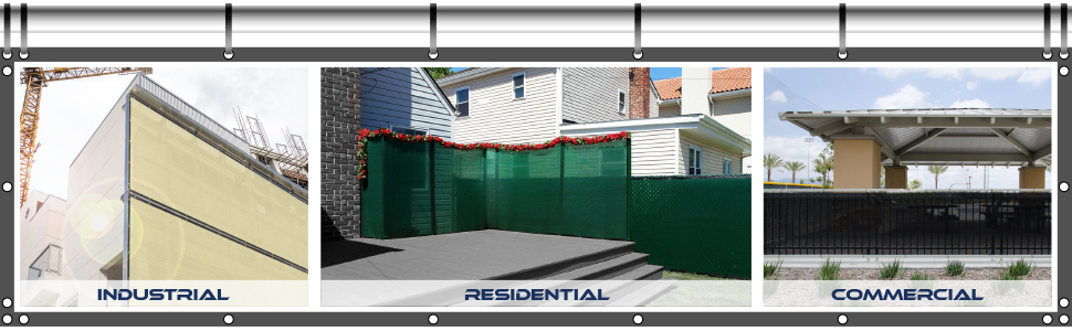 customize fence screen
